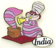 Cat India Pin