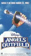 Disney's Angels in the Outfield - 1995 Promotional Print Ad - VHS Poster