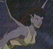 Angela in the Rain