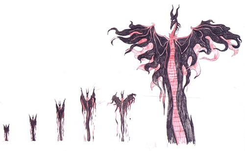 Sleeping Beauty Maleficent Dragon Transformation: Sleeping