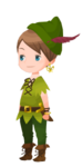 Peter Pan Costume Kingdom Hearts χ