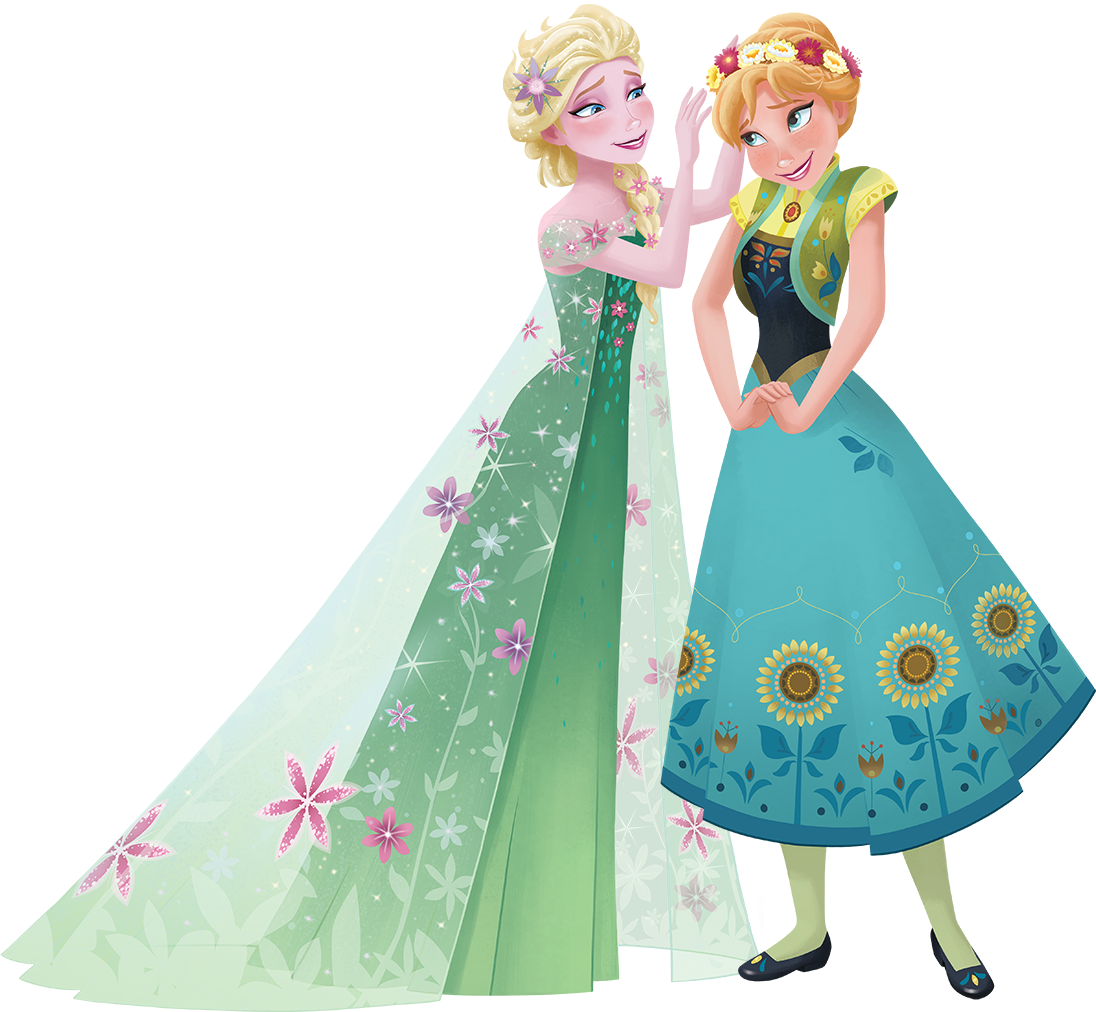 image frozen fever anna and elsa disney wiki fandom powered by wikia. Black Bedroom Furniture Sets. Home Design Ideas