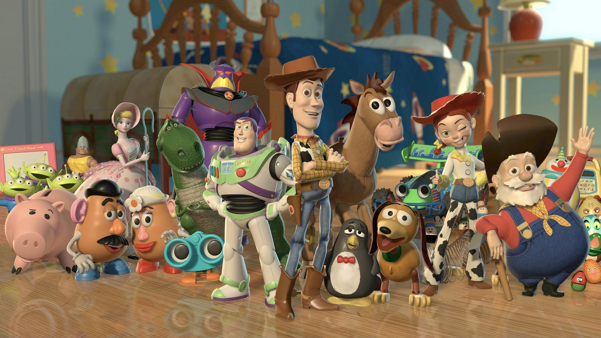 Image result for toy story characters