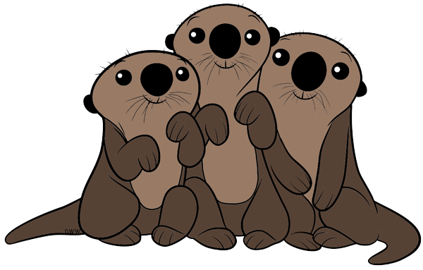 Clip Art Otter Clip Art image sea otters finding dory clipart png disney wiki clipart