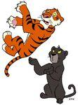 2 wild Cats