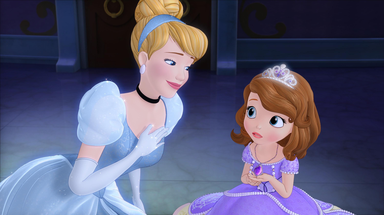 Sofia Meets Cinderella
