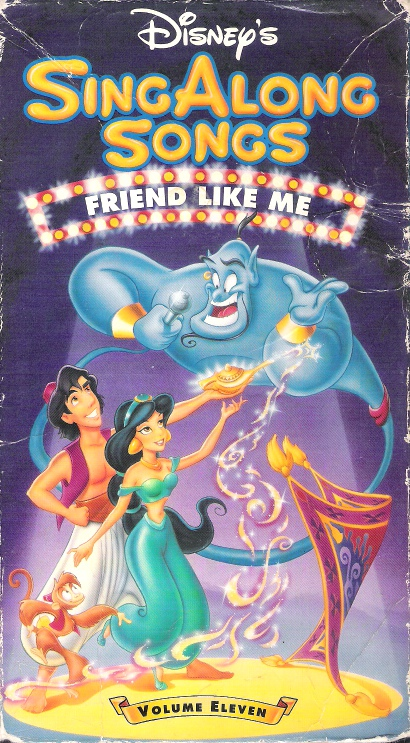Disney Sing Along Songs Friend Like Me