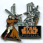 Star Wars Weenends Pin