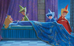Disney Princess Aurora's Story Illustraition 11