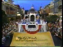 Disney World Parades All American Parade 1989