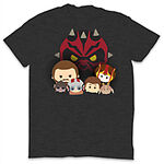Phantom Menace Tsum Tsum T Shirt Grey