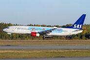 Scandinavian Airlines-SAS 737-800 LN-RCY (13-Disney Planes)(Ldg) ARN (SFS)(46)-S