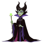 Maleficent Kingdom Hearts χ