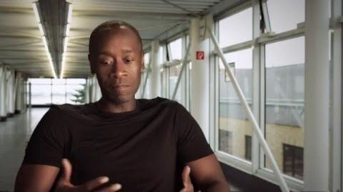 "Captain America Civil War Behind-The-Scenes ""War Machine"" Interview - Don Cheadle"