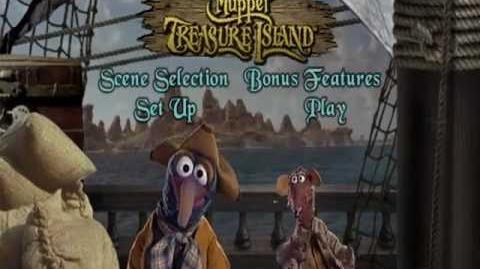 Muppet Treasure Island Menus 16 x 9 (with Gonzo and Rizzo)