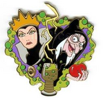Queen transformation pin