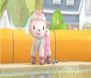 Lambie in get set to get wet