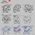 Baymax Disney INFINITY concept