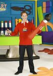 Lloyd Warbey in Art Attack