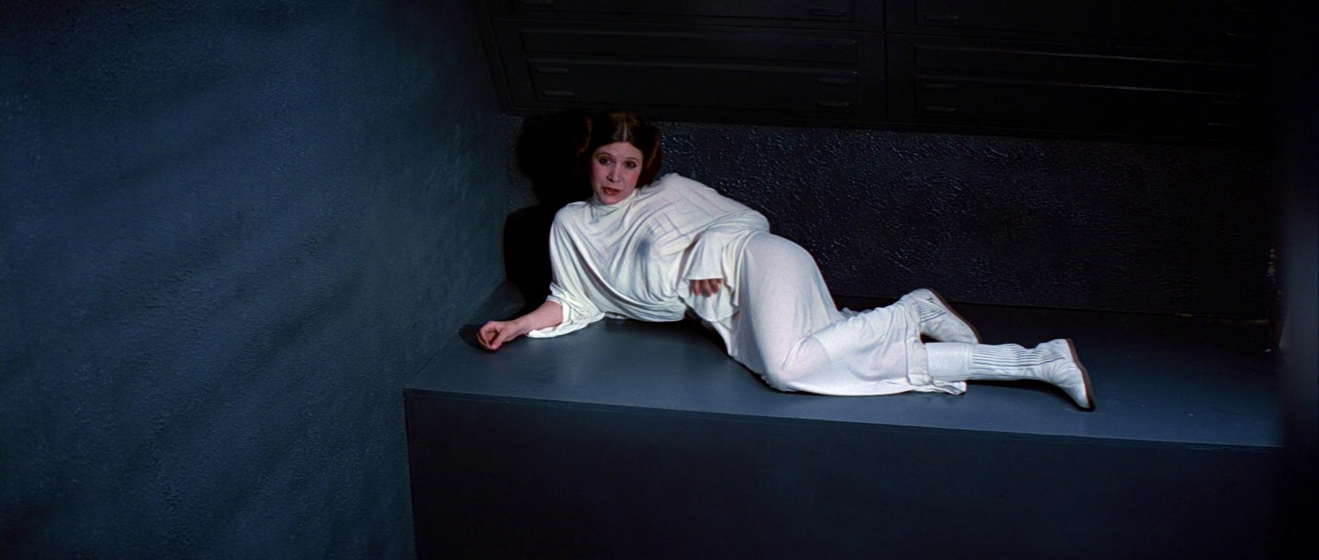 Image result for princess leia in the jail cell