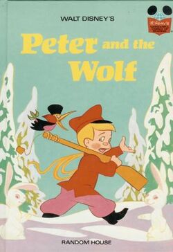 Peter and the wolf disney wonderful world of reading