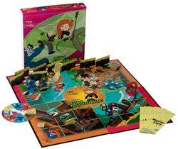 Kim Possible Game board