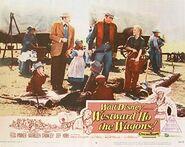Westward Ho, the Wagons Poster 2