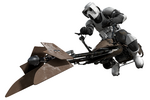 Scouttrooper and Speeder Fathead
