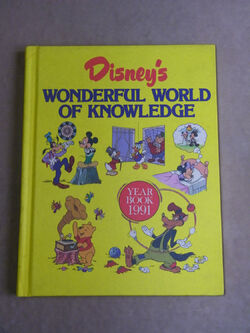 Disneys wonderful world of knowledge year book 1991