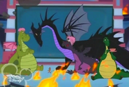 Dragon Maleficent in House of Mouse