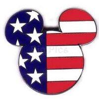 USA Flag Pin