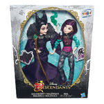 Maleficent and Mal dolls