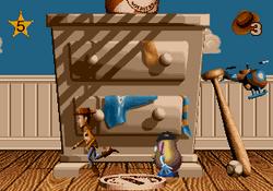 Toy Story Genesis Gameplay