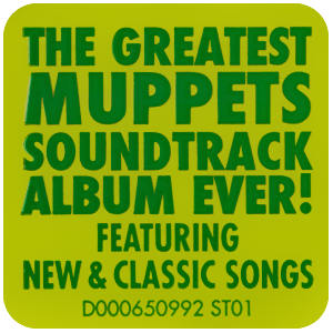 File:The Muppets soundtrack sticker.png