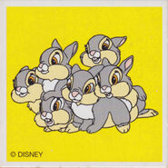 Thumper with 5 sisters