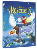 The Rescuers UK DVD 2014