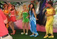 Disney fairies face characters