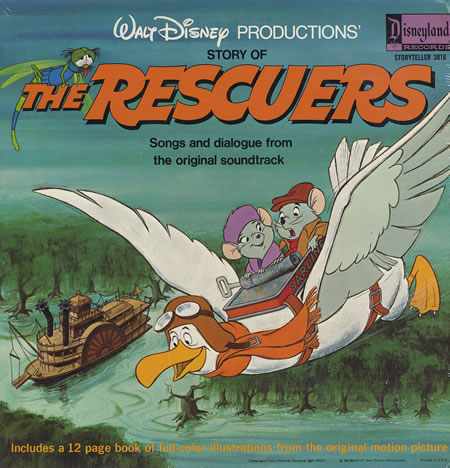 The Rescuers Soundtrack Disney Wiki Fandom Powered