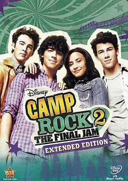 Camp Rock 2 DVD