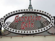 DisneylandCarnationCafesign