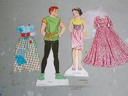 Snow white 1972 whitman paper doll