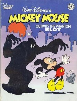 MickeyOutwitsThePhantomBlot Cover