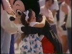 MickeyHuggingLittleGirl