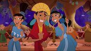 Kuzco with Marge & Tina