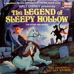 Legend of Sleepy Hollow vinyl cover 1