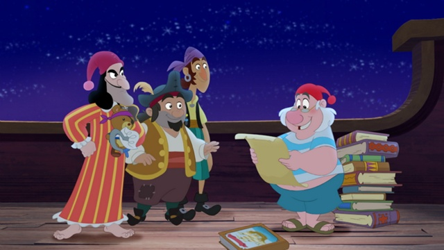 File:640px-Jolly Roger crew and the pirate code scroll.jpg