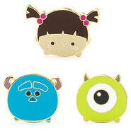 Boo Sulley Mike Tsum Tsum Pin