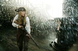 Elizabeth on the Black Pearl