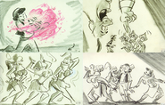 Aladdin storyboards 2