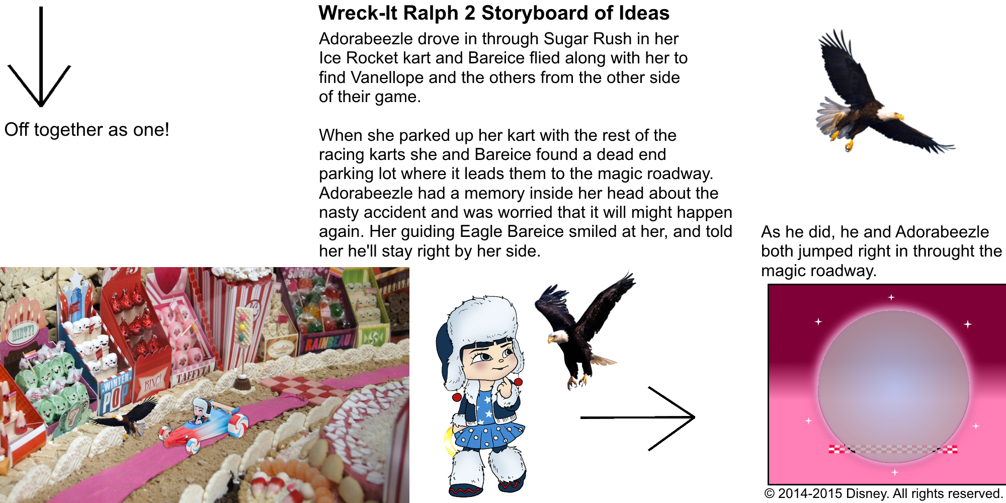 Best Lines From Wreck It Ralph 2: Wreck-It Ralph 2 Storyboard Of Ideas 33.png